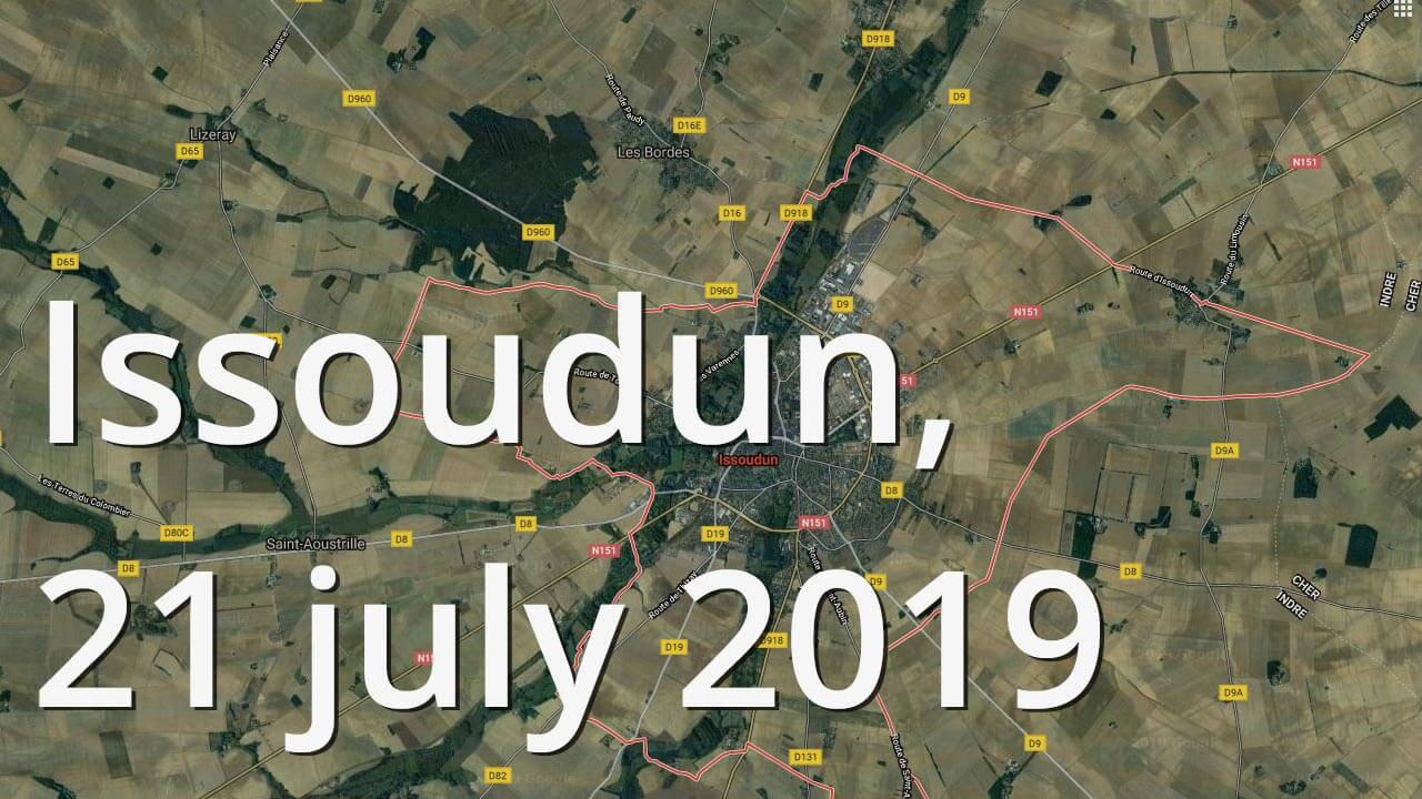 Issoudun, 21 july 2019
