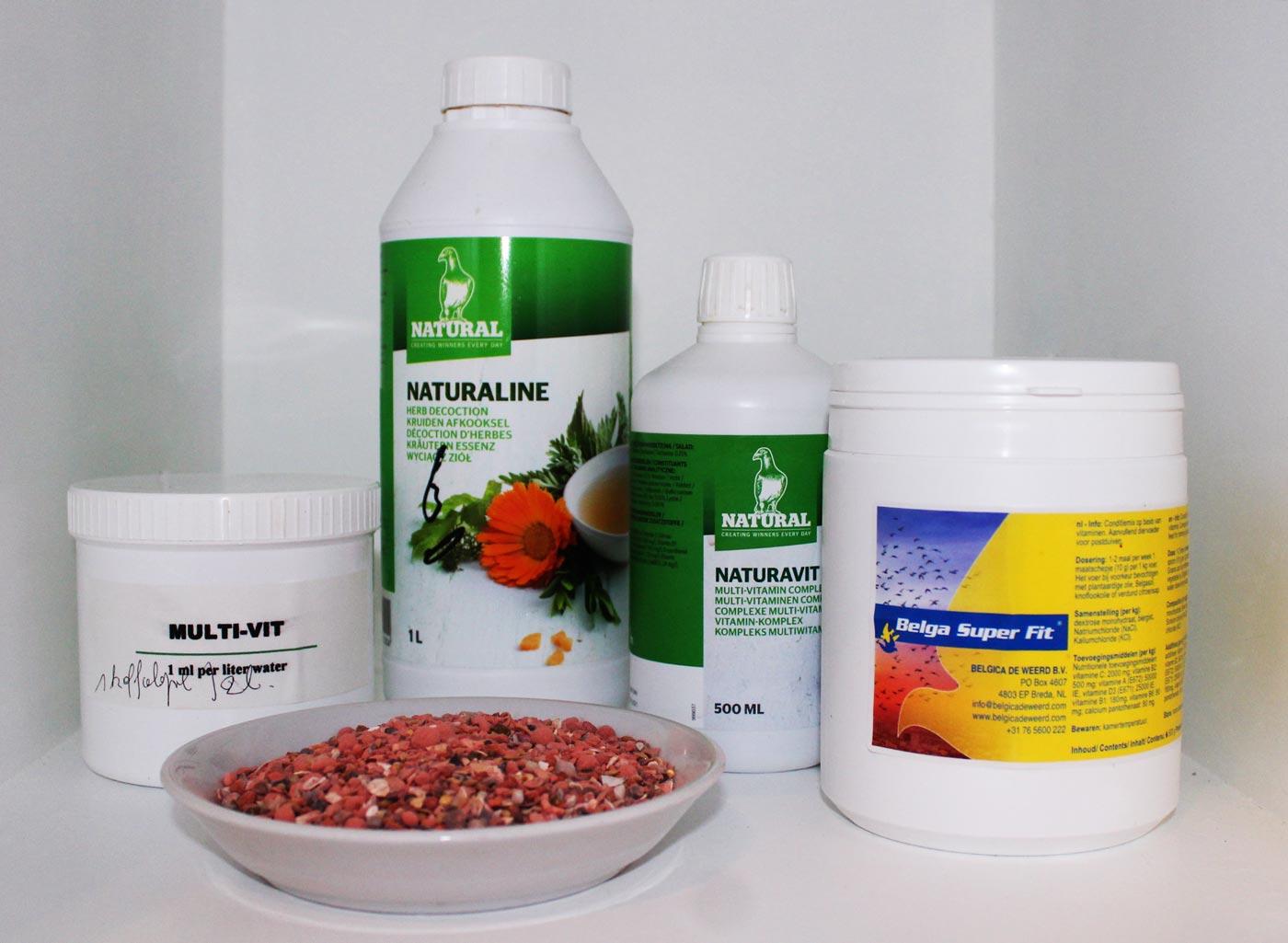 Vitaminen en grit