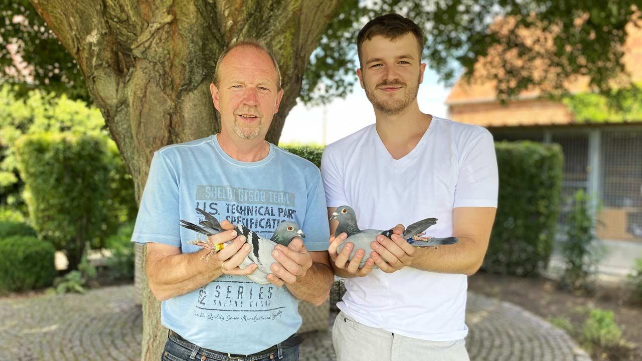1ste & 2de interprovinciale overwinning jaarse duiven Vierzon!